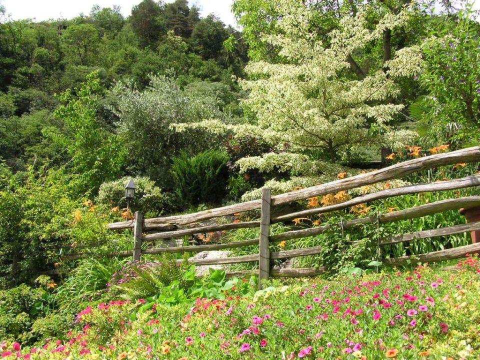 Garten der Pension Hotel Blumenthalerhof