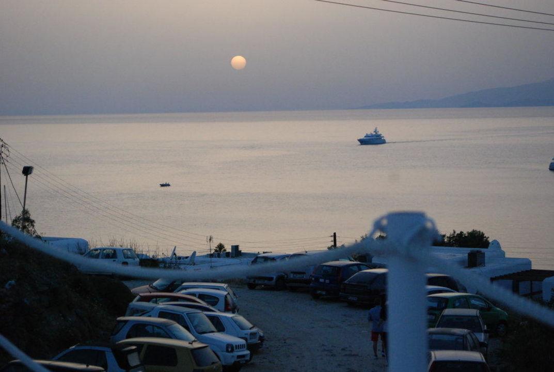 Ausblick vom Zimmer Hotel Ilio Maris