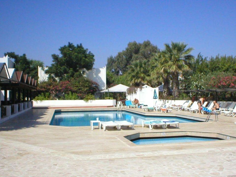 Poolbereich Hotel Sardunya Beach