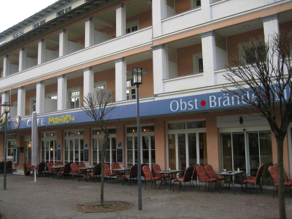Marktplatzansicht Hotel Mohren