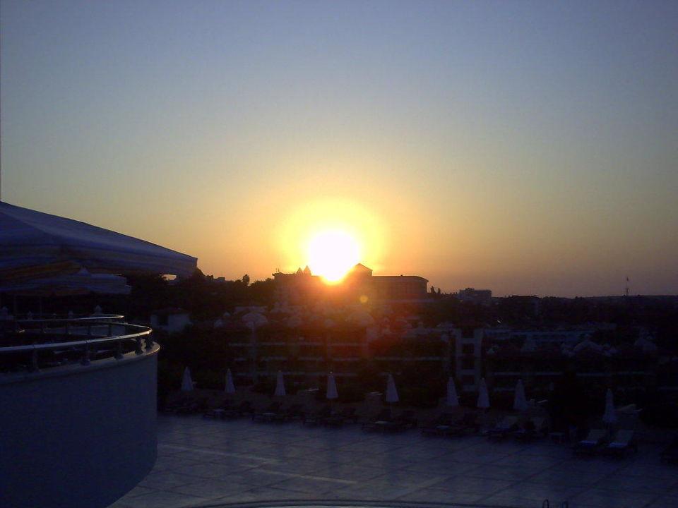 Sonnenuntergang Hotel Melas Resort