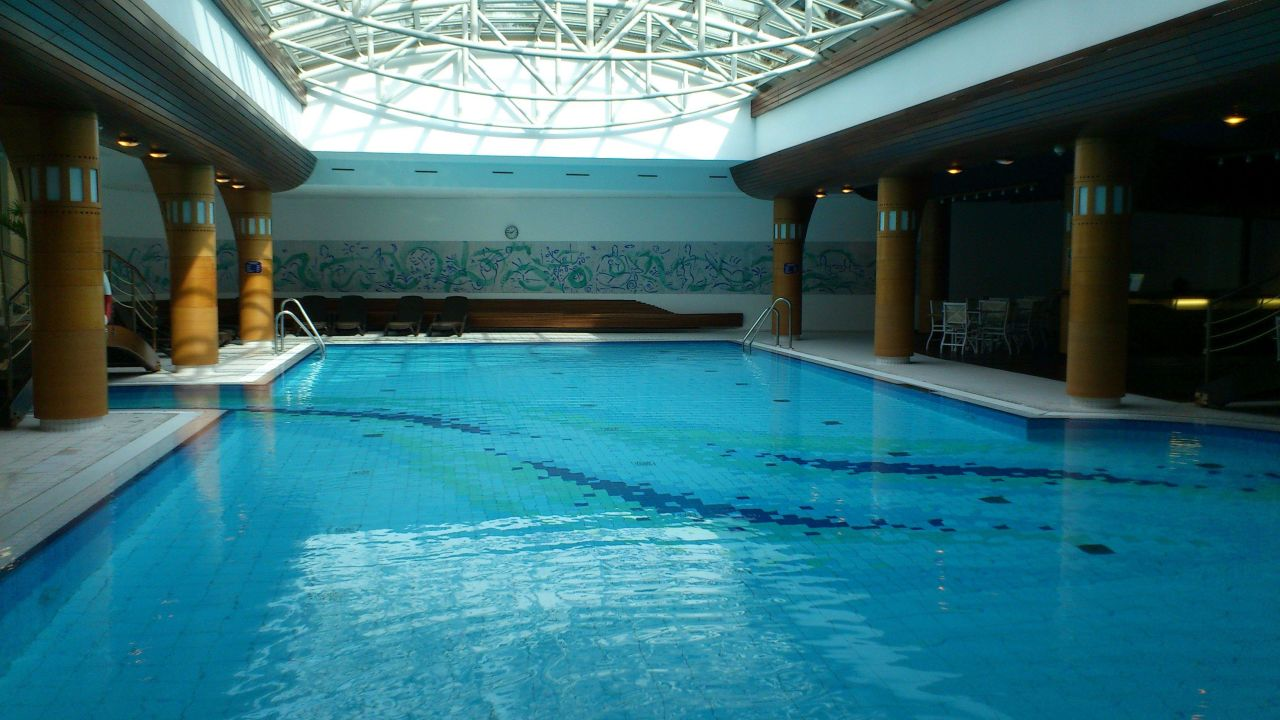 Der Tolle Indoor Pool Radisson Blu Park Hotel Conference Centre