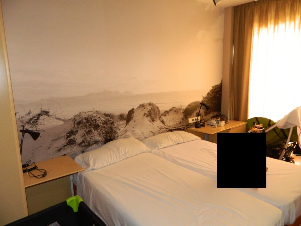 bild fototapete mit den d nen zu eix platja daurada in can picafort. Black Bedroom Furniture Sets. Home Design Ideas