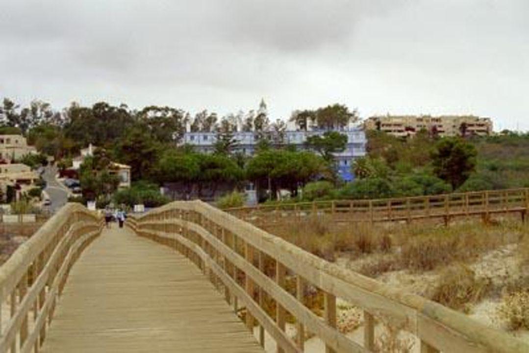 Hotel vom Strand Hotel Aqua Meia Praia