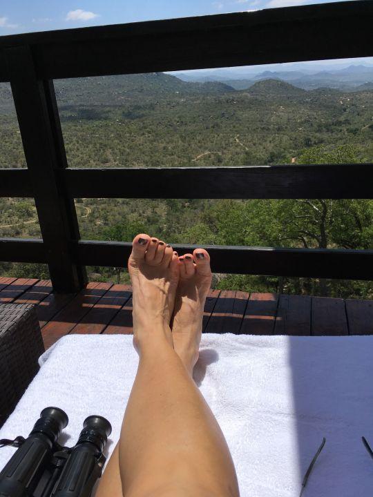 Ausblick Bongani Mountain Lodge