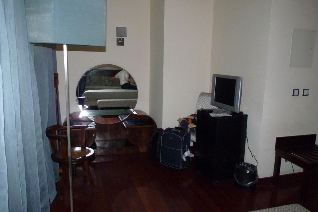 Bett im Zimmer 102 Hotel Principe Real