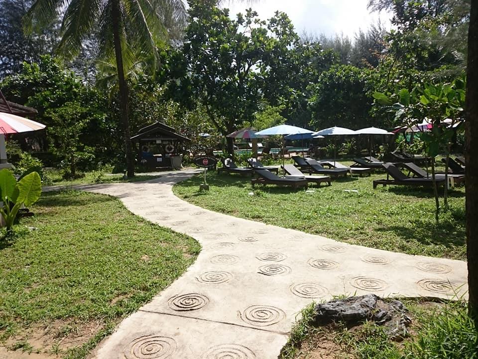 Gartenanlage Lah Own Resort