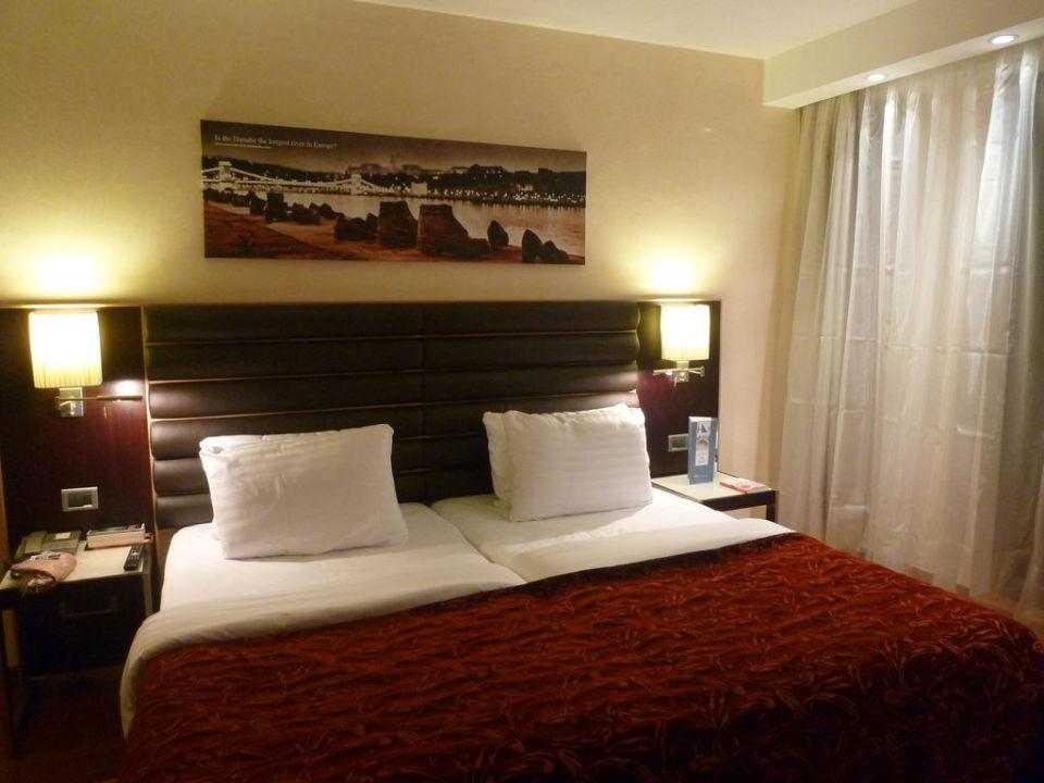 Doppelzimmer Standard Hotel Eurostars Budapest Center