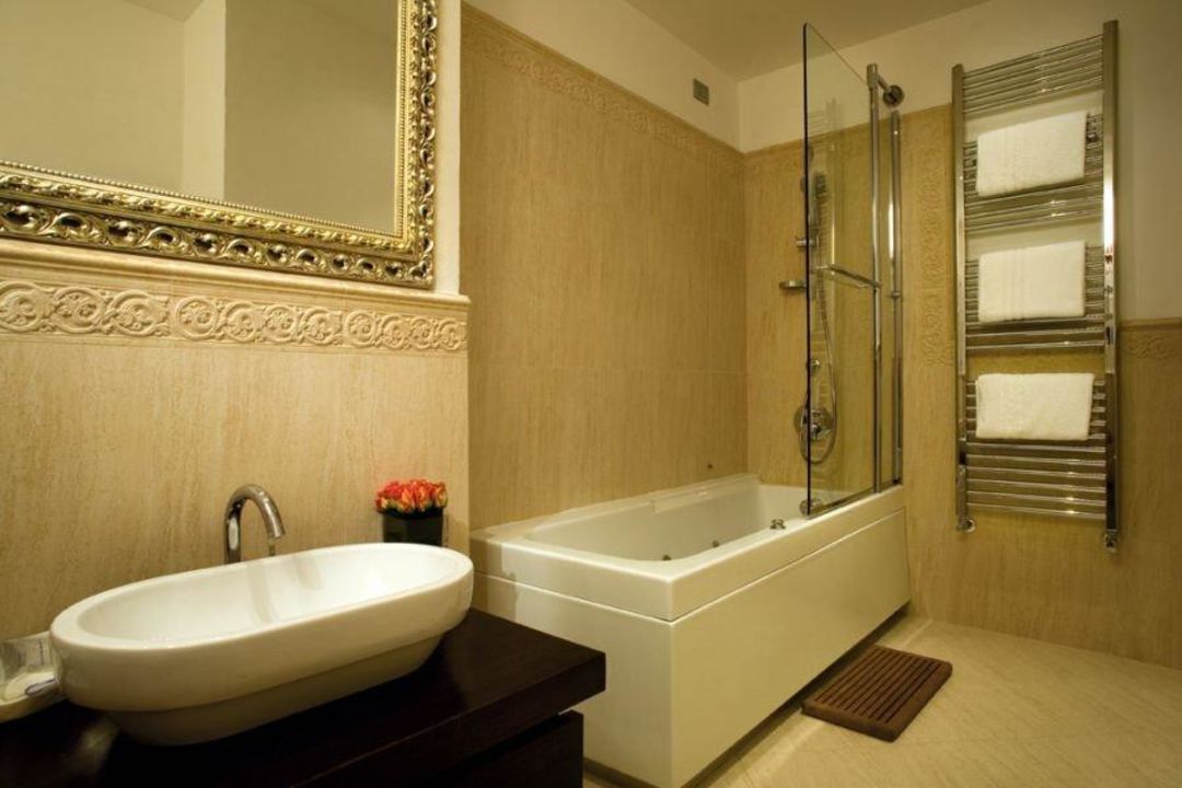 Bathroom superior room Hotel Atlantic Palace