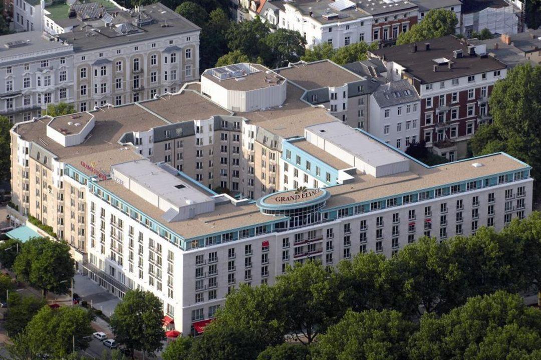 Außenansicht Grand Elysée Hamburg