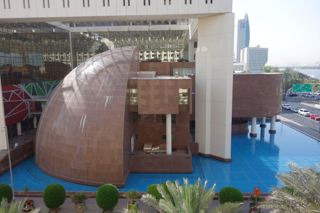 Ausblick Hotel Radisson Blu Dubai Deira Creek