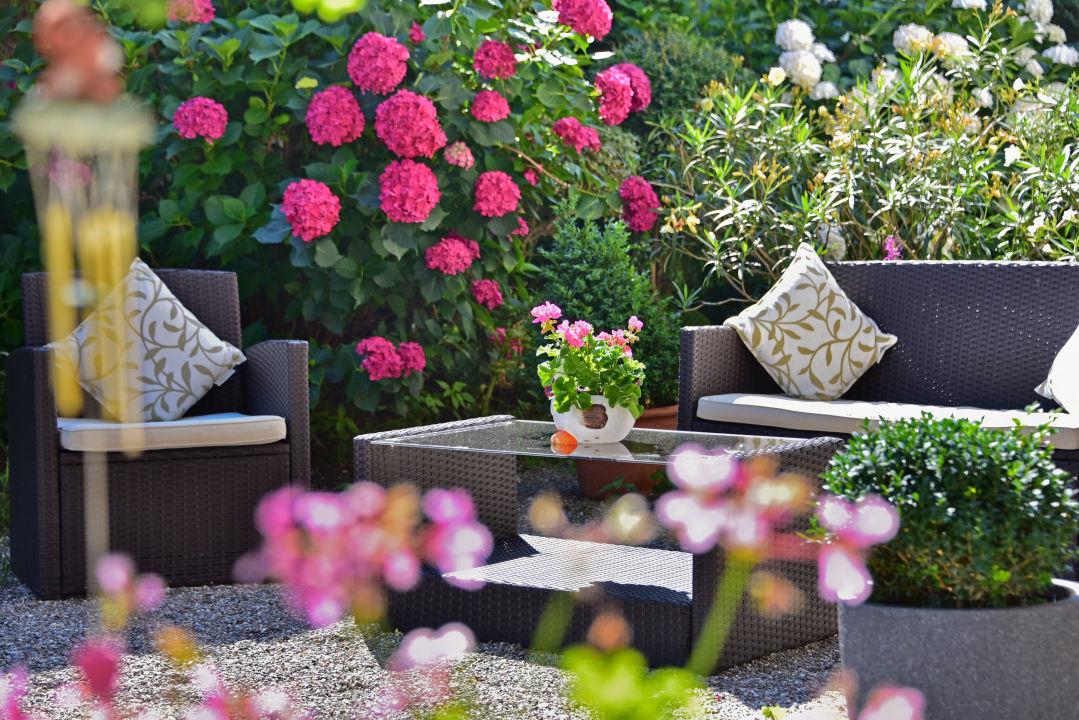 Gartenanlage Hotel Klarnerhof