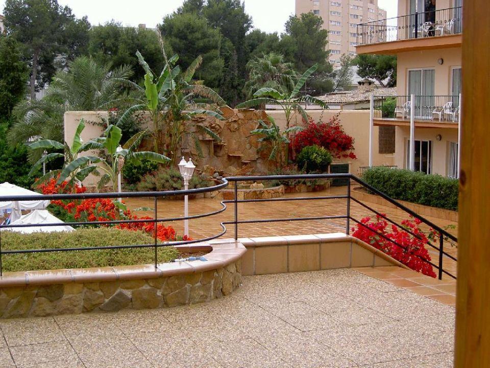 Außenanlage Valentin Park Apartments