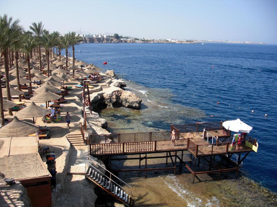 Zugang Uber Steg Am Strand The Grand Hotel Sharm El Sheikh Hadabat