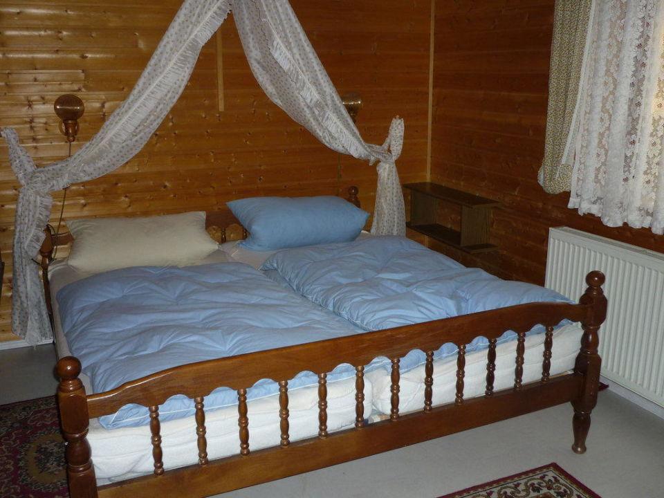 Das größere Schlafzimmer Feriendorf Ulrichsgrün