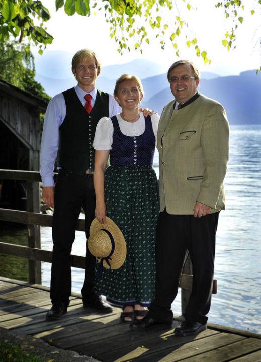 Gastgeberfamilie Pernkopf Landhotel Grünberg am See