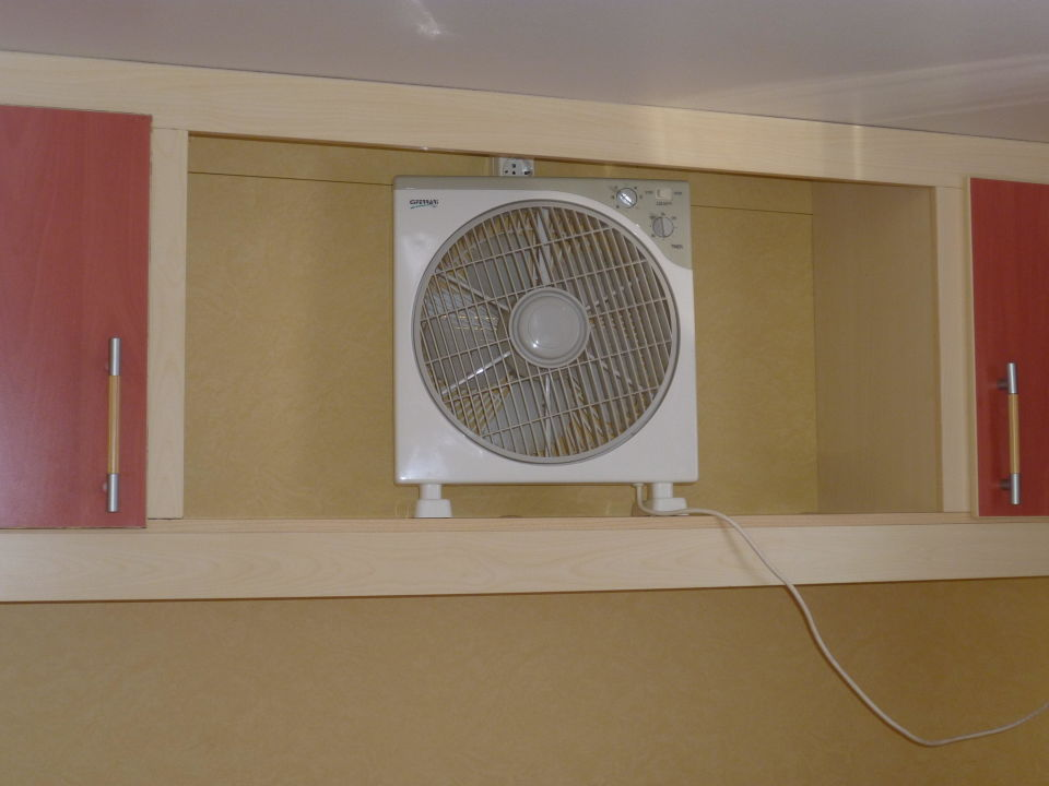 Charming Schlafzimmer Ventilator #4: Ventilator Im Schlafzimmer Camping Bungalows Bijela Uvala