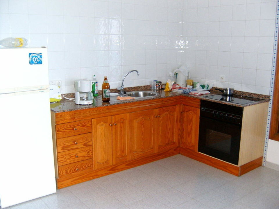 Küchenzeile Hotel Casa Domingo