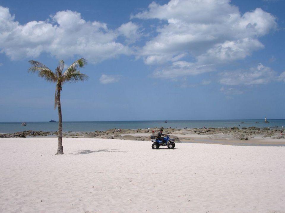 Strand vorm Hotel Centara Grand Beach Resort & Villas Hua Hin