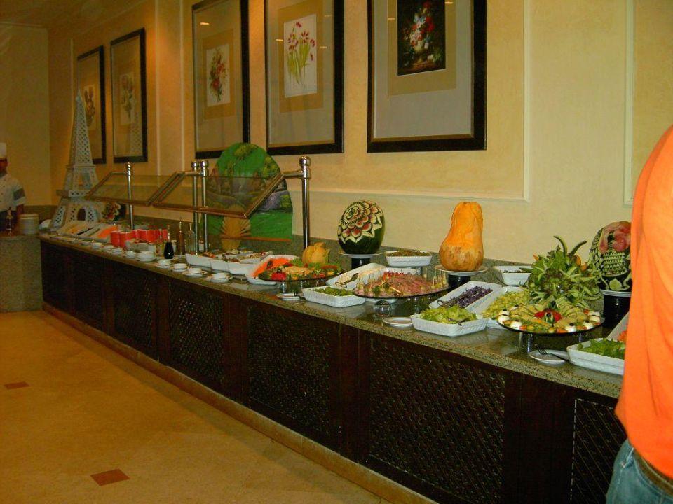 Buffet abends - Teil 5  -  Salate und Vorspeisen Hotel JAZ Makadi Star & Spa