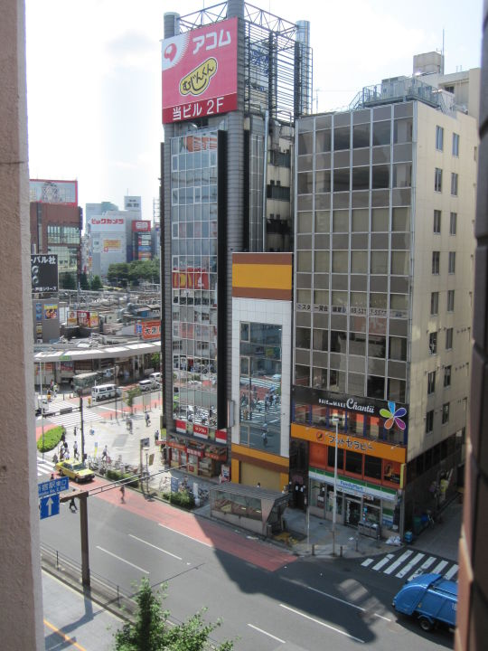 Aussicht ibis Hotel Tokyo Shinjuku