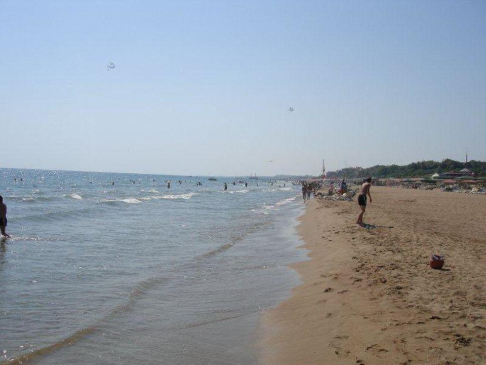 Der Strand Richtung Gündogdu Kamelya Collection Hotel Fulya
