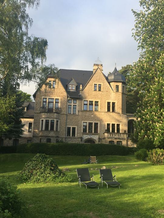Außenansicht Schlosshotel Stecklenberg