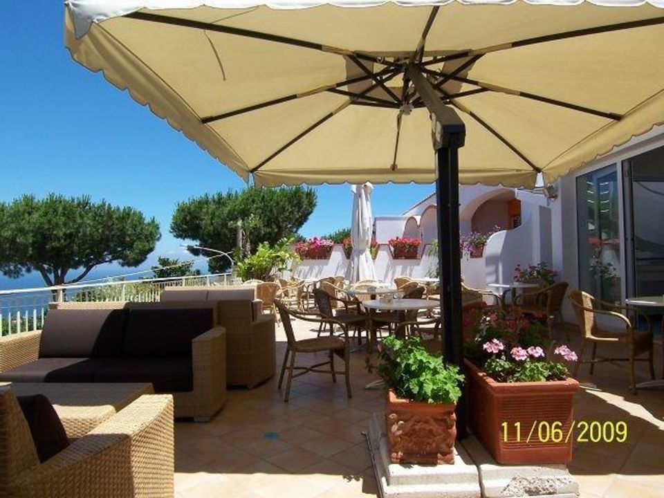Terrasse Restaurant Hotel Poggio Aragosta Casamicciola Terme