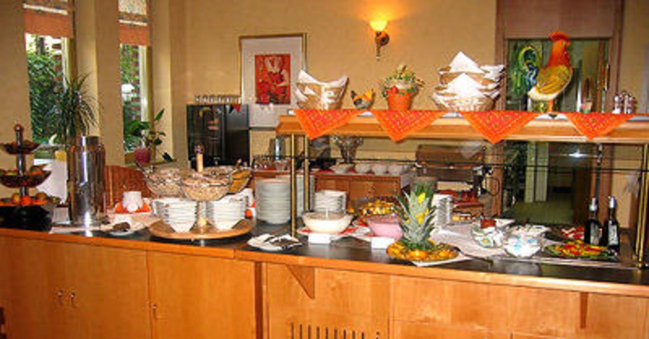 Frühstücksbuffet Hotel Anna Amalia