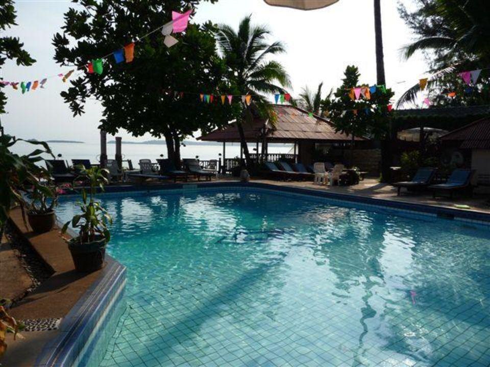 Pool und Wellness am Strand Sandy Resort