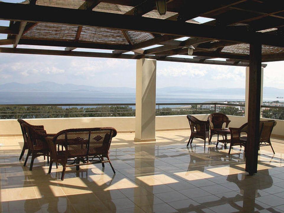Aussichtsterrasse Iberostar Kipriotis Panorama Kipriotis Panorama Hotel & Suites