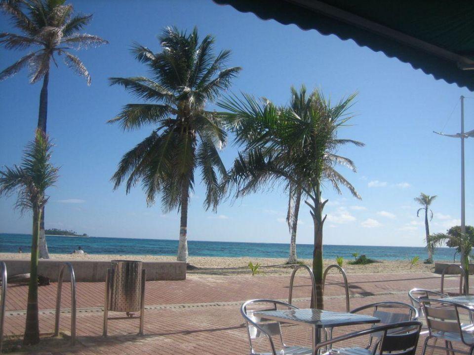 Beach Café am Portobelo San Andrés Hotel Portobelo