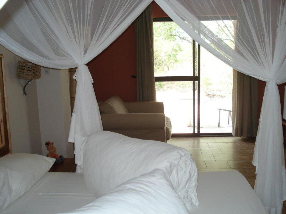 Schönes Zimmer im Halali Hotel Halali Camp