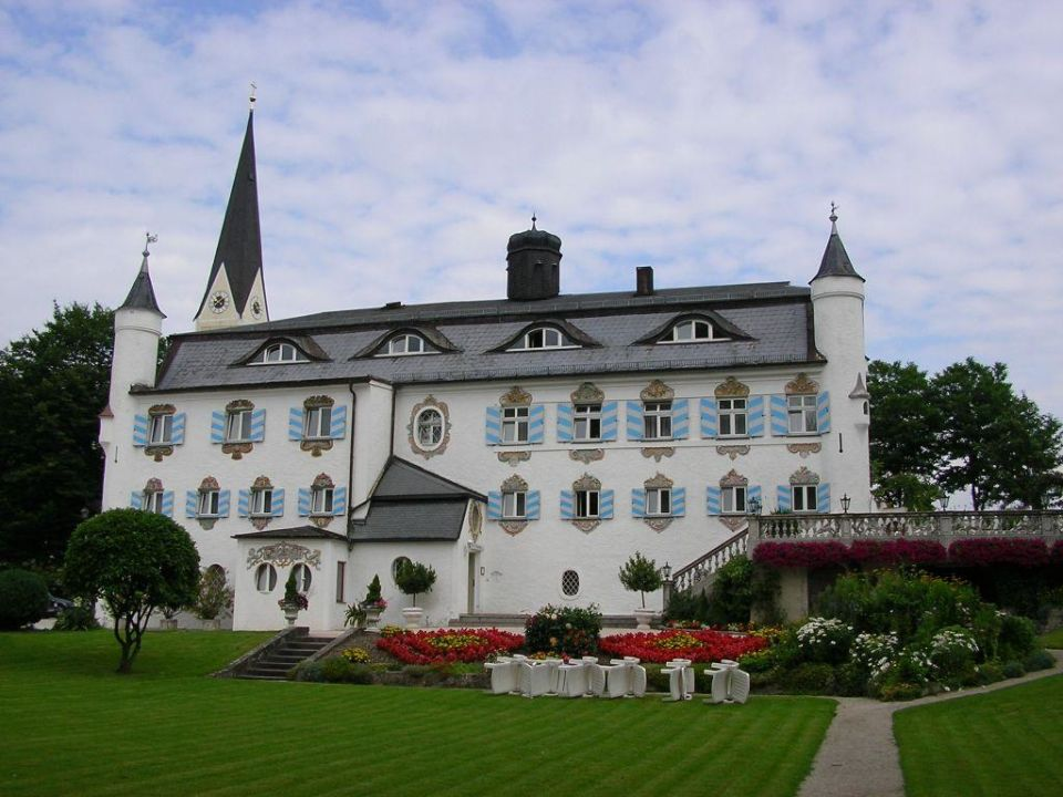 Bonnschlössl Parkansicht Hotel Bonnschlössl