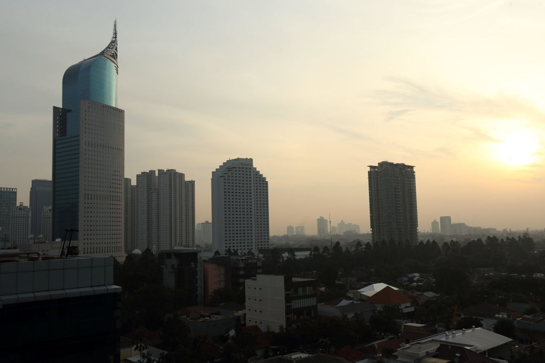 View from Hotel Holiday Inn Express Jakarta Thamrin