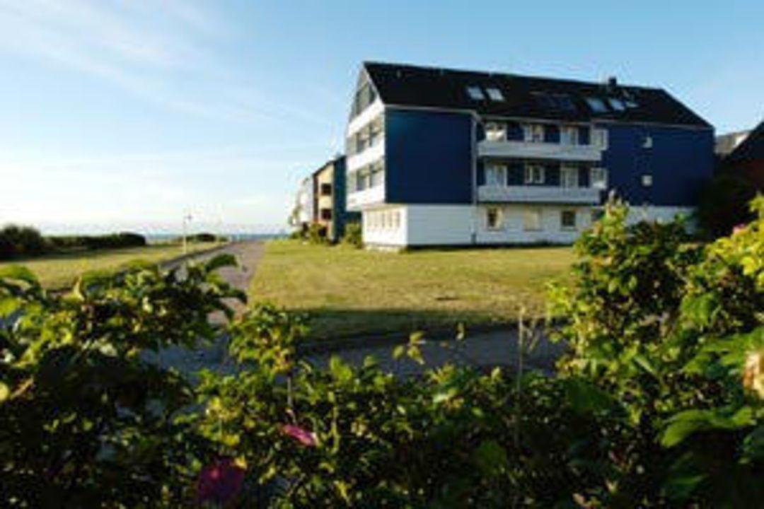 Aussenansicht Aparthotel Klassik Helgoland Hotel Helgoländer Klassik