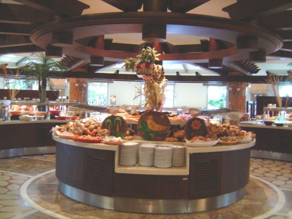 Buffet Hauptrestaurant Hotel Royal Wings