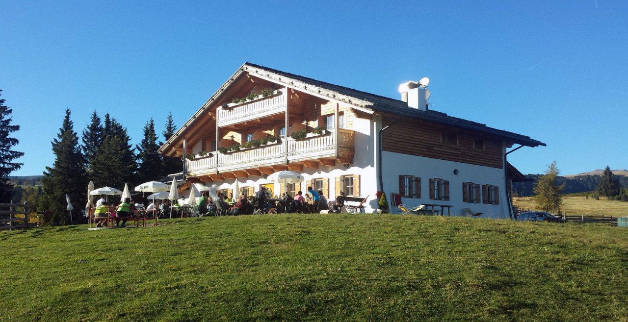 Gasse Hütte - Terrasse & Spielplatz Gasser Hütte
