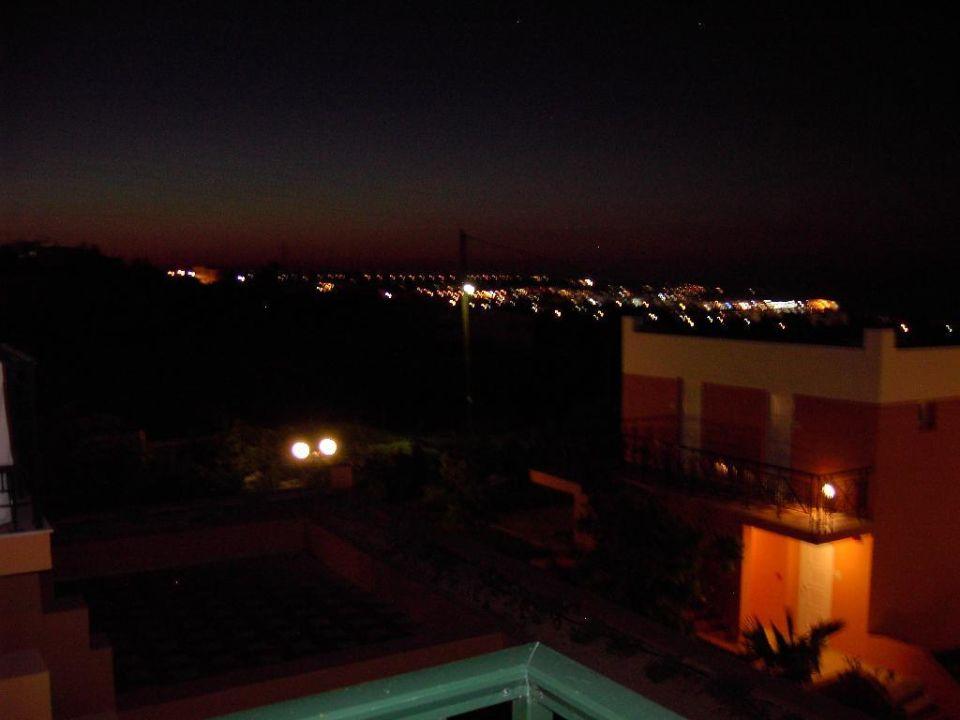 Abendstimmung auf dem Balkon Hotel Imperial Belvedere
