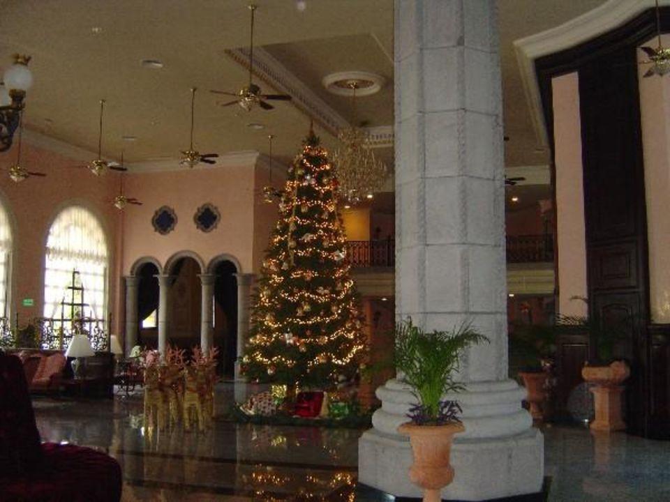 voll klimatisierte Lobby Hotel Riu Palace Mexico