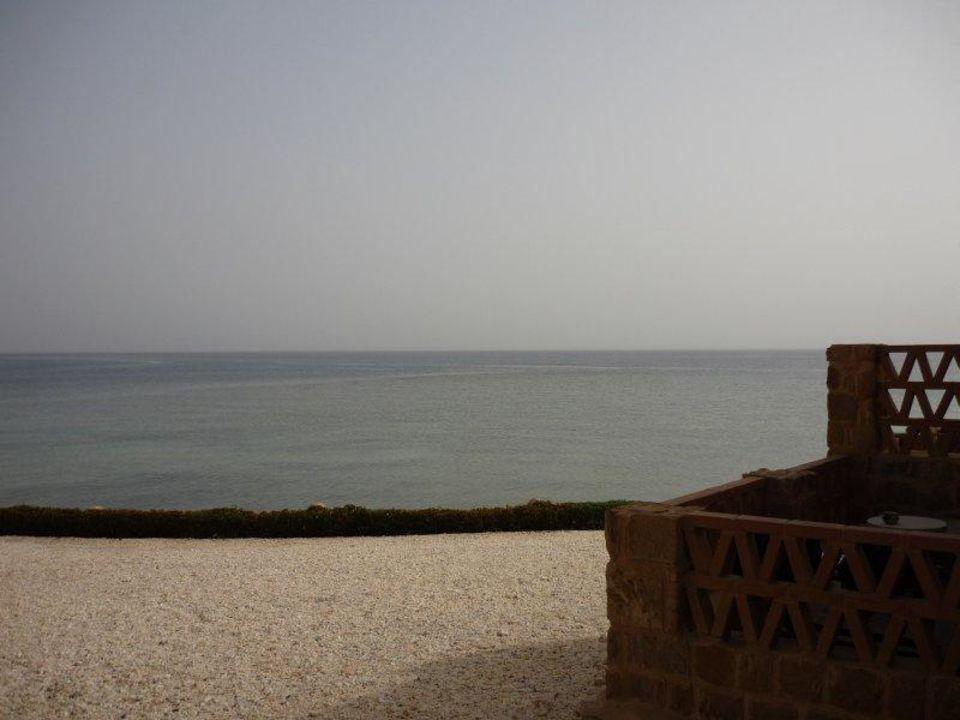 Blick aus dem Zimmer Mövenpick Resort El Quseir