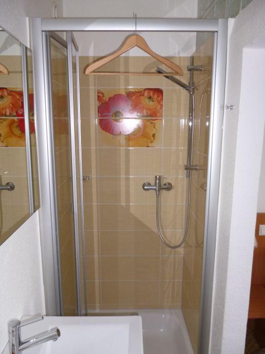 Dusche im Zimmer Hotel Krone am See