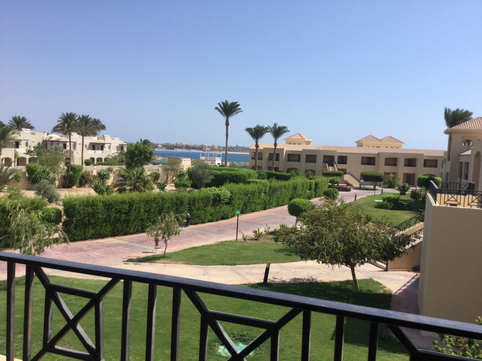 Ausblick Cleopatra Luxury Resort Makadi Bay