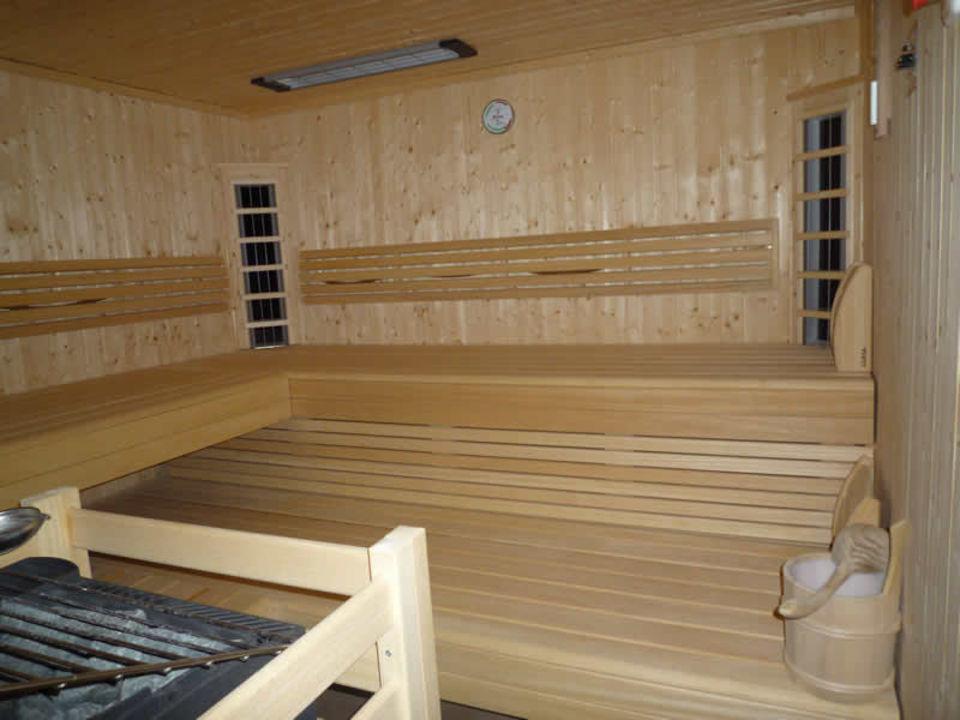 Sauna in der Wohnung\