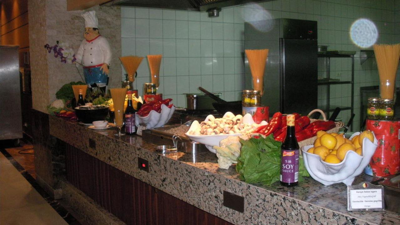 Küche Mholiday Hotels Belek