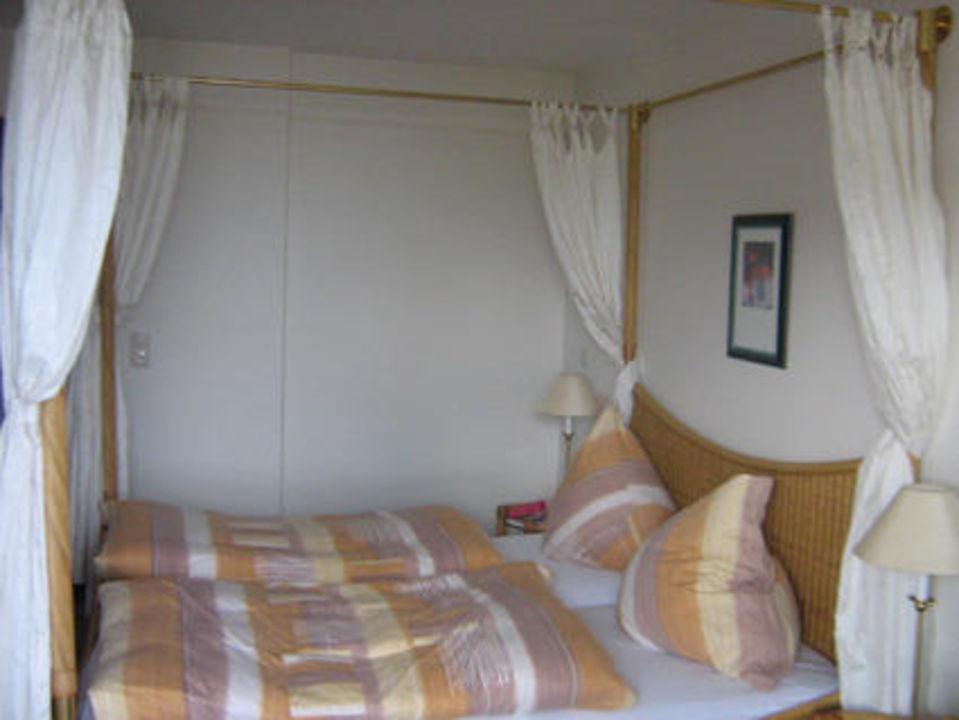 Das Doppelbett Ostsee-Hotel