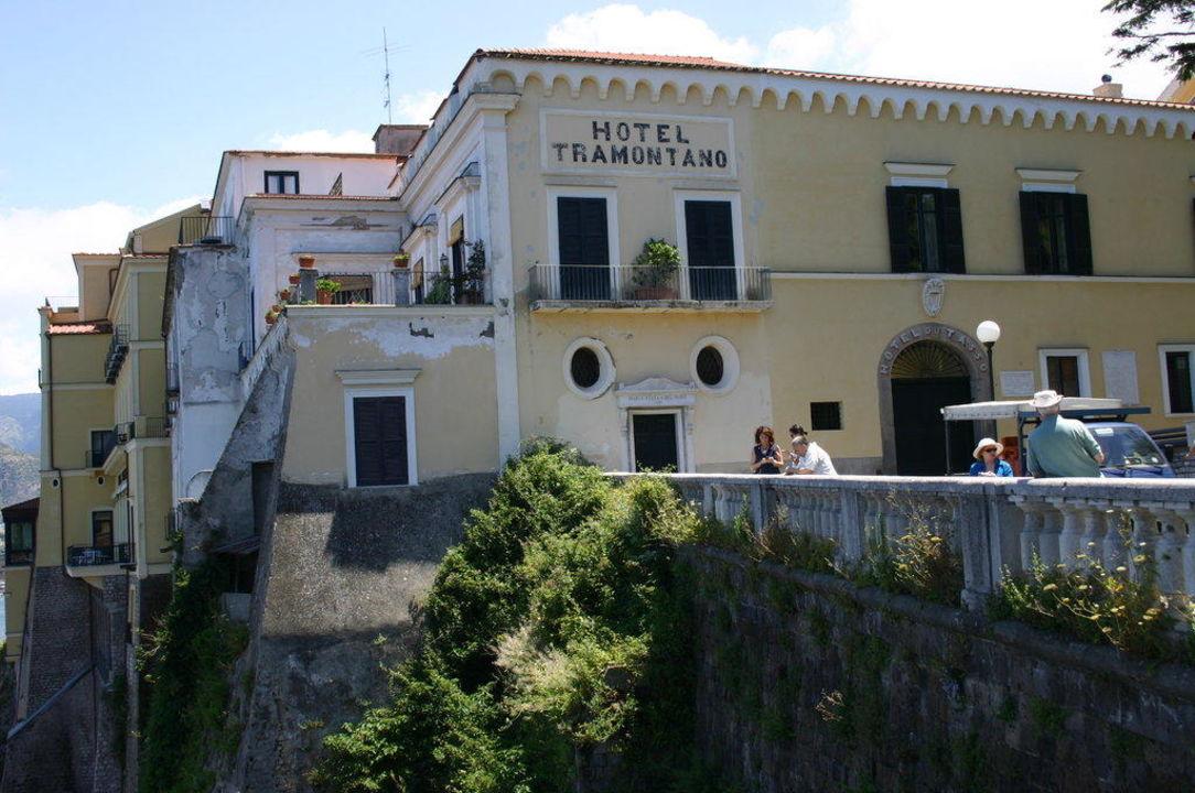 Aussenansicht Imperial Hotel Tramontano