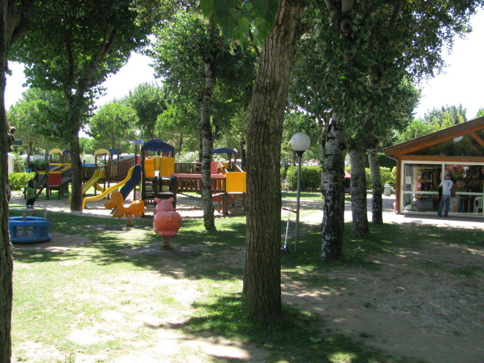 Spielplatz auf dem Platz Camping Jesolo International