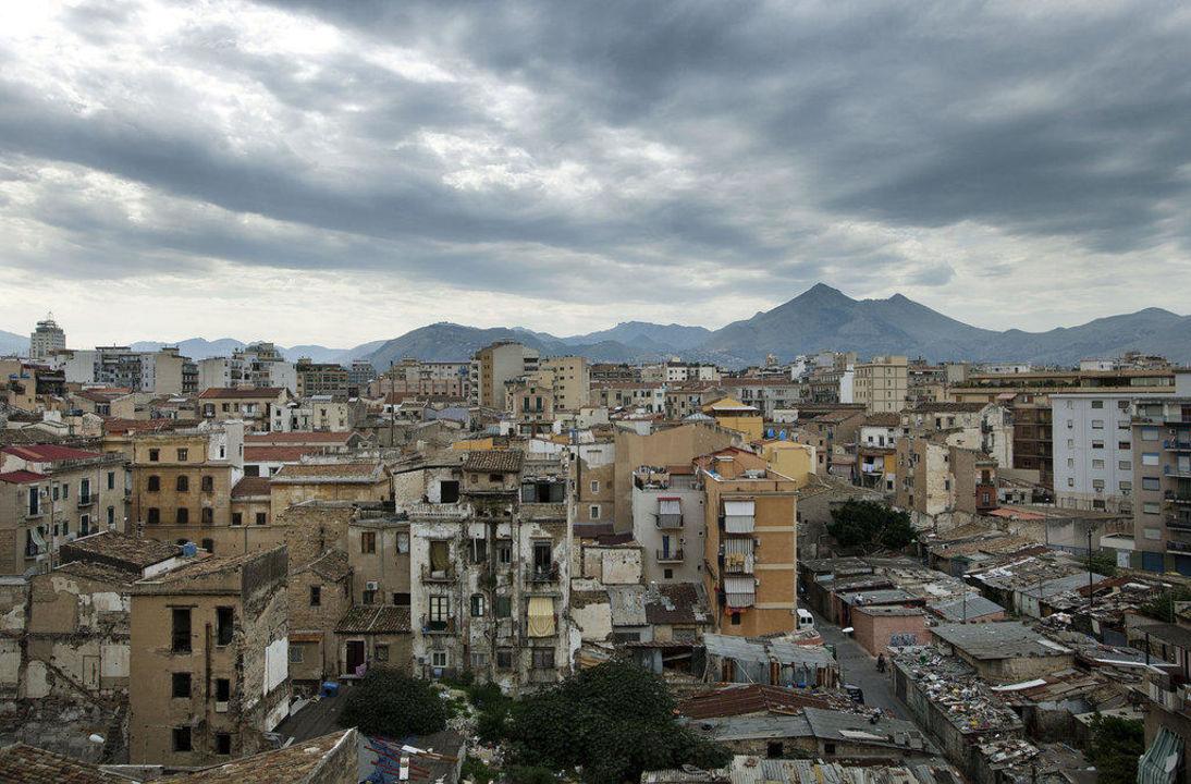 Ausblick Richtung Stadt Hotel ibis Styles Palermo