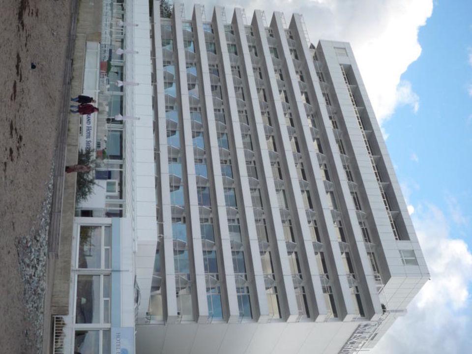 Blick vom Strand Grand Hotel Seeschlösschen SPA & Golf Resort